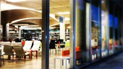 Inauguración de las Salas de Derecho y Filología de la Biblioteca María Zambrano (La Biblioteca Informa)
