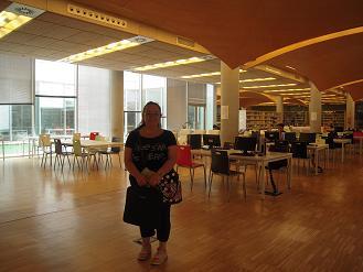 Estancia Erasmus en la BUC de Antonella di Nisio de la Biblioteca Polo Centro de la Università degli Studi dell' Aquila (Italia)