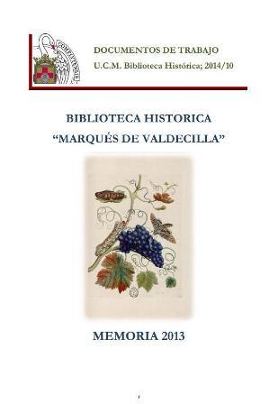 La Biblioteca Histórica y el nuevo curso académico 2014-2015 (Folio Complutense)