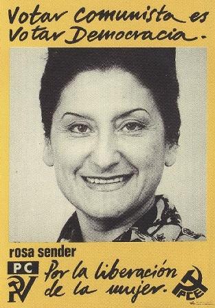 Mujeres en la Biblioteca Histórica: Rosalía Sender Begué y el Movimiento Democrático de Mujeres (Folio Complutense)
