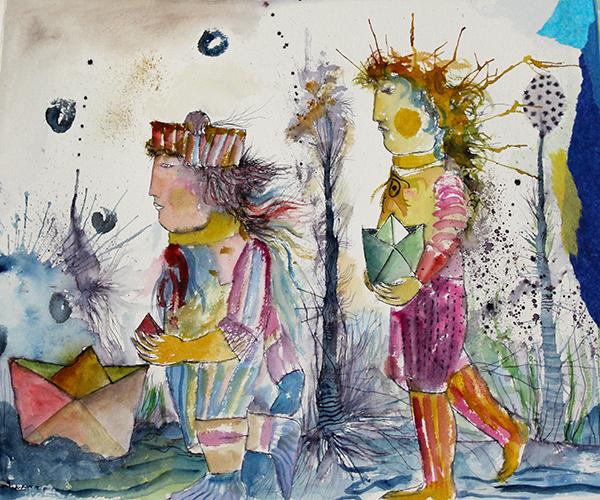 Exposici�n: Juan Carlos Mestre. La palabra pintada (La Biblioteca Informa)