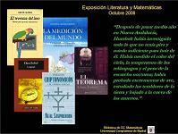 Exposición Literatura y Matemáticas