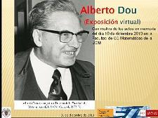 Exposición bibliográfica sobre Alberto Dou