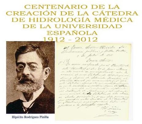 Primer Catedrático y documento de creación de la Cátedra