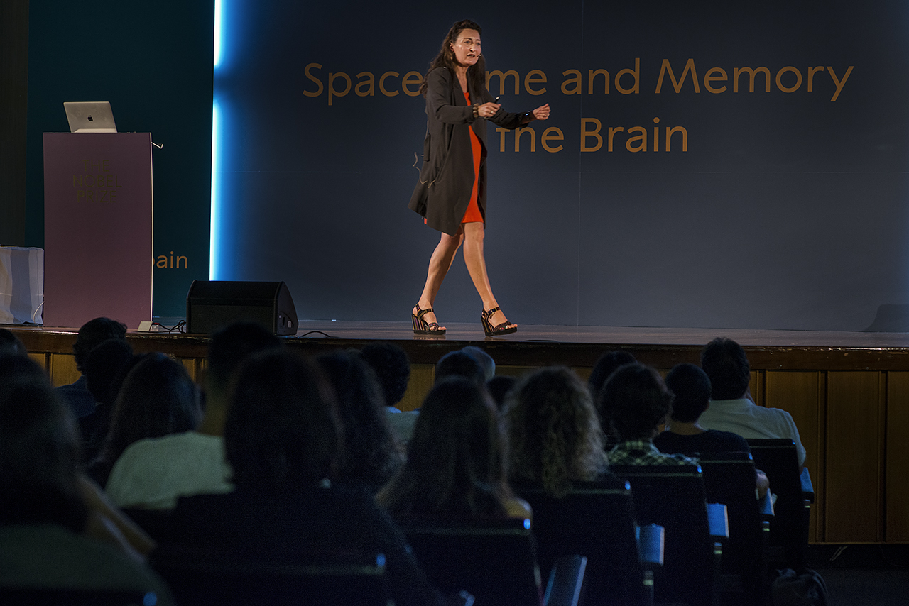 May-Britt Moser impartió la conferencia Space, time and memory in the brain