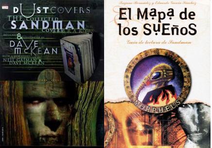 Portadas de Sandman y Mapa de los sueños