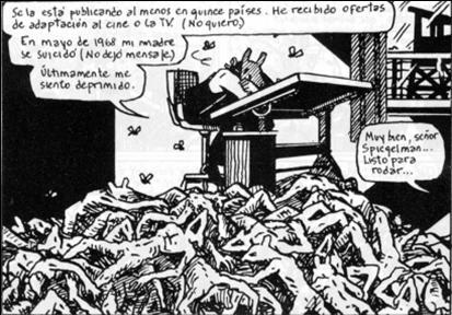 Spiegelman sobre infinidad de cadáveres