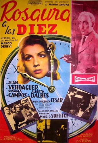 Cartel de la Película Rosaura a las diez