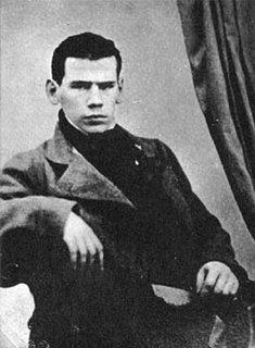 Retrato de Tolstoi joven