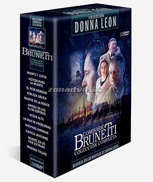 Paquete de películas Colección Donna Leon