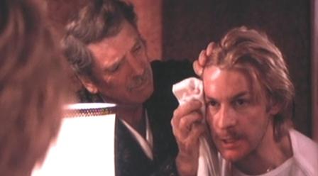 Burt Lancaster y Helmut Berger en