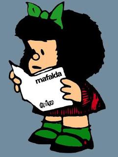 Mafalda leyendo