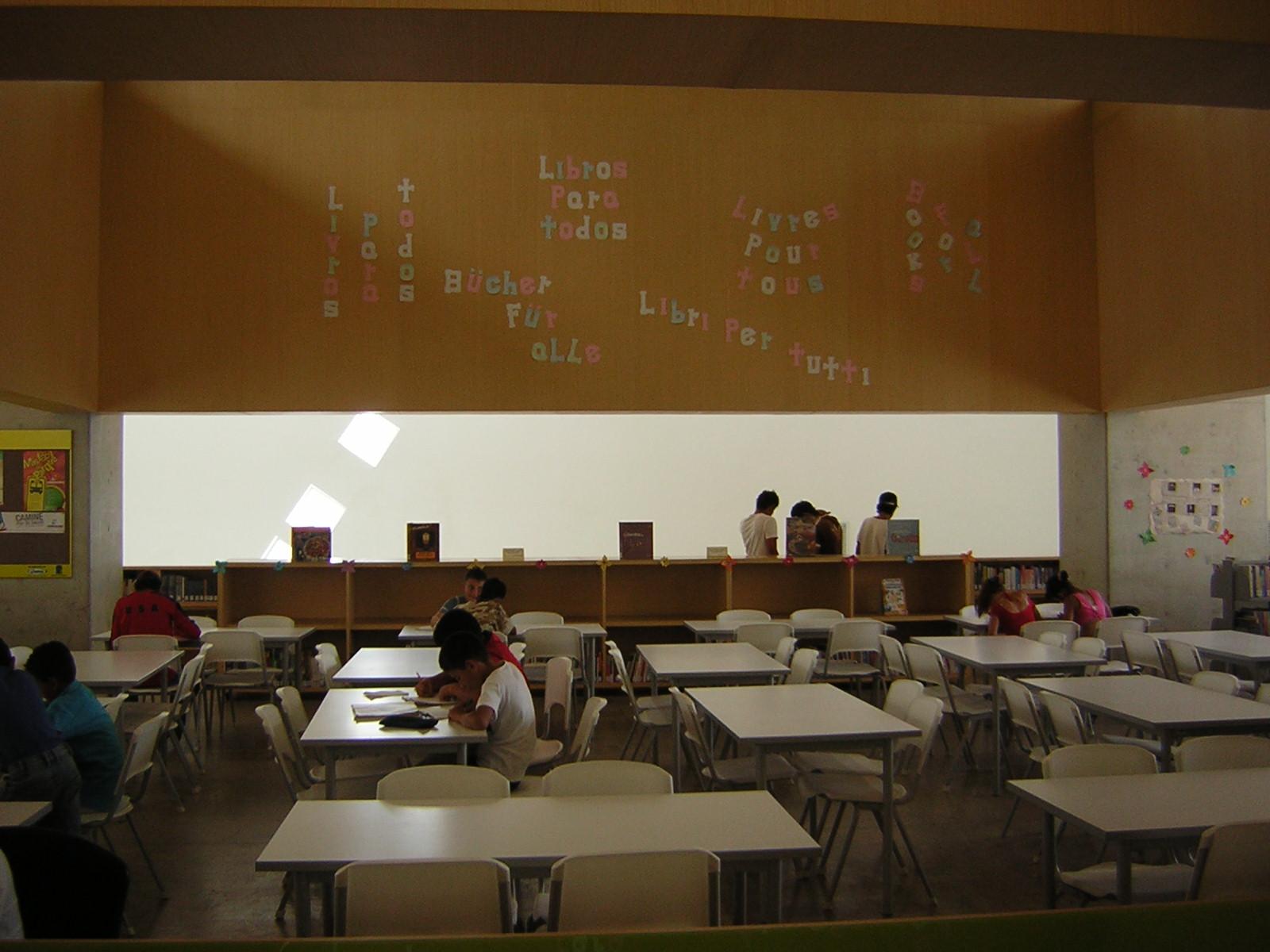 Parque Biblioteca en Medellín