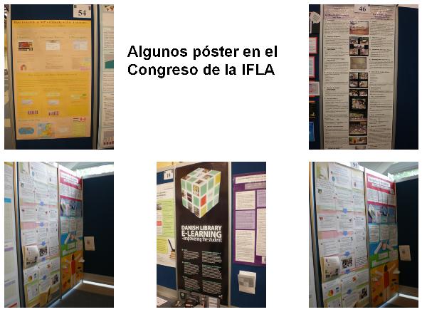 Poster en el Congreso de la IFLA