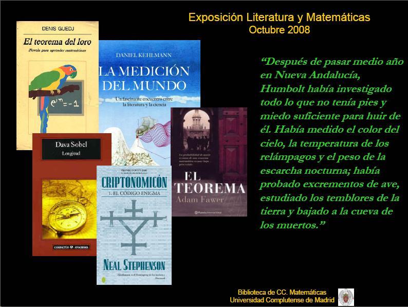 Imagen de pdf de Exposición Literatura y Matemáticas