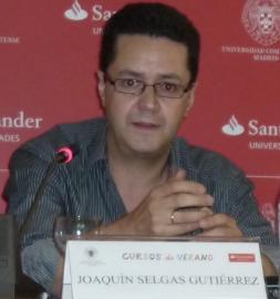 Joaquín Selgas en la mesa redonda