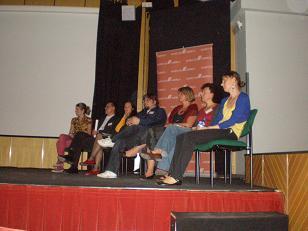 Foto de los representantes del proyecto