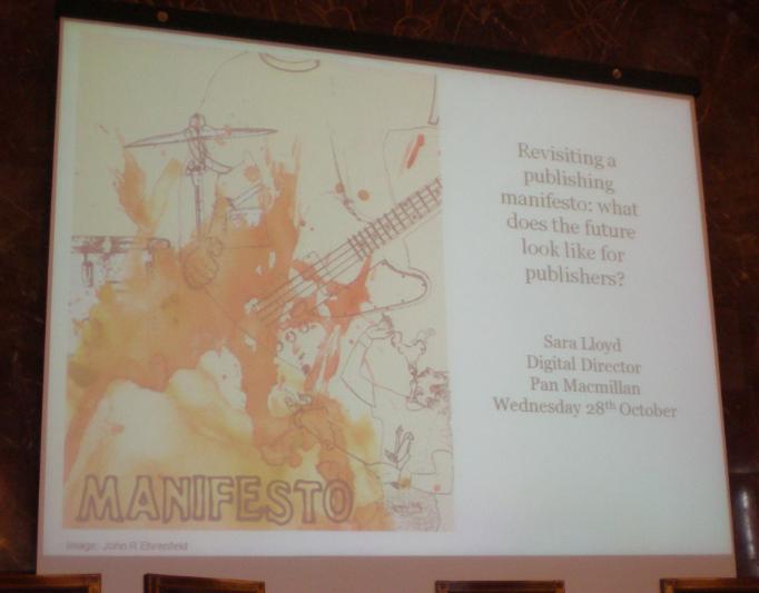 Inicio de su presentación: Manifesto