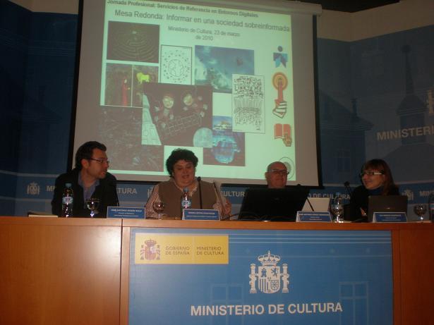 Participantes en la mesa redonda