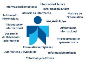 Logo y definiciones en varios idiomas