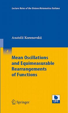 Mean oscillation and equimeasurable rearrangements of functions